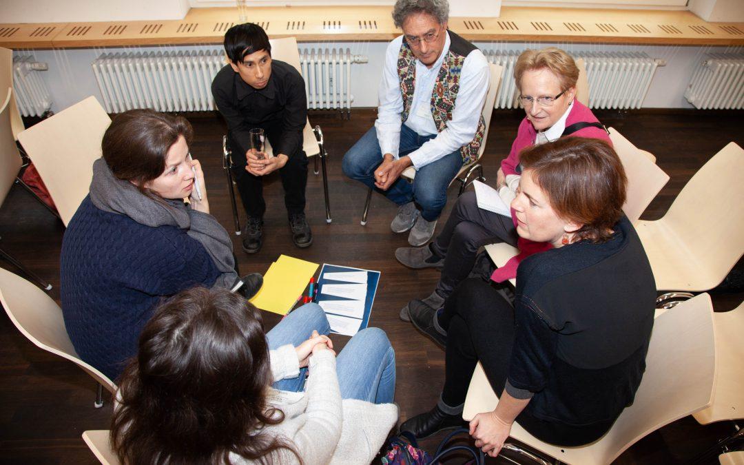 Projekt BuildUp startet mit Healing-Classrooms-Workshops für den Bereich der vorberuflichen Bildung