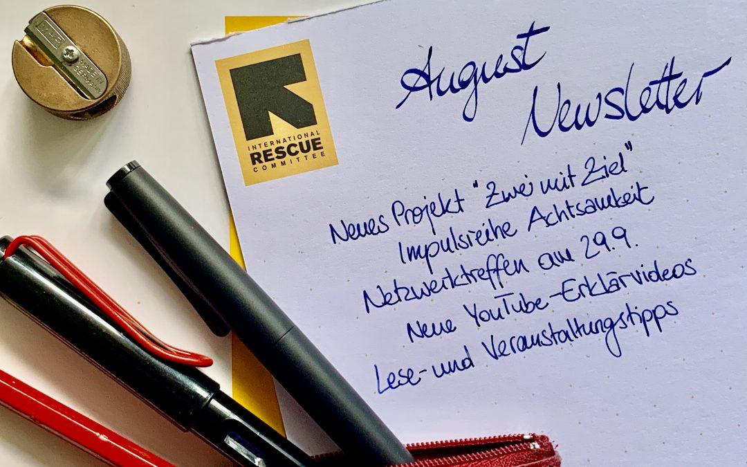 IRC Deutschland Newsletter August 2021